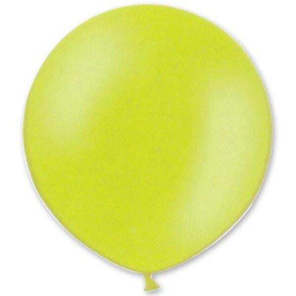 1 m balons, apaļš, salātzaļā krāsa - 1 gb.